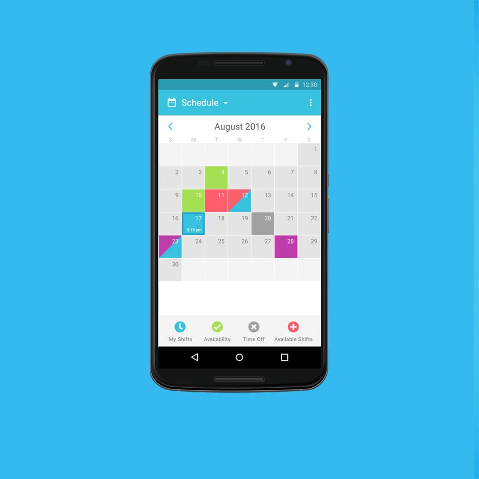 online work schedule maker  staff scheduling app
