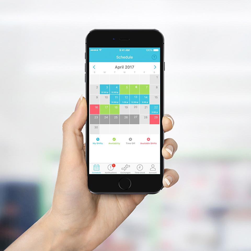 online employee scheduling app features makeshift